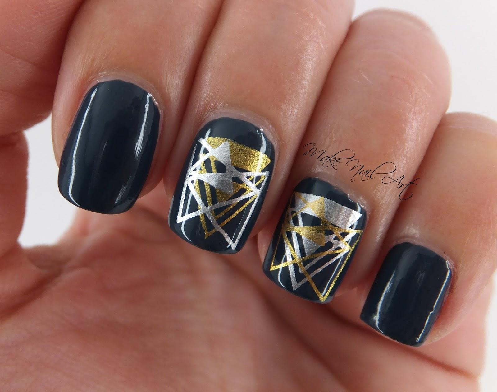 Stamping nail art tutorial gallery nail art and nail design ideas make nail art geometric stamping nails nail art tutorial then i stamped one of the images prinsesfo Gallery