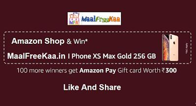 free iPhone Xs MAX