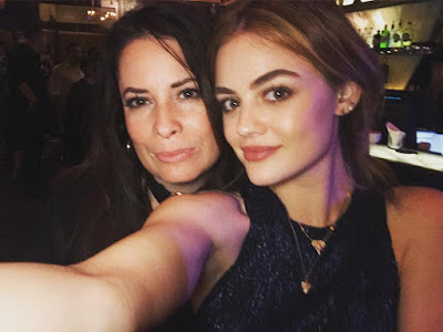 PLL reunion Lucy Hale and Holly Marie Combs at 2016 Supanova Brisbane, Australia