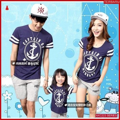 AKC223K195 Kaos Couple Baju Anak 223K195 Keluarga Family BMGShop