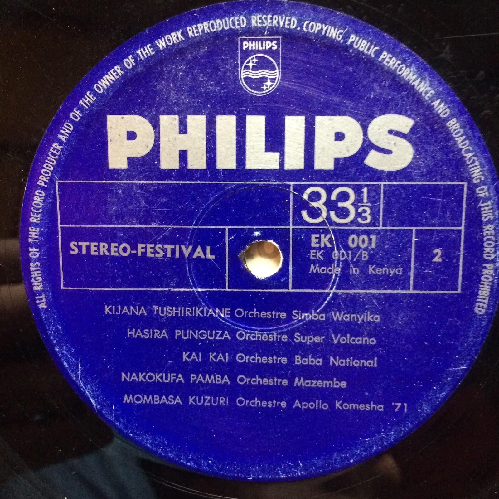 Simba National Orchestre L'Orch. Simba National Kwaheri Na Dunia