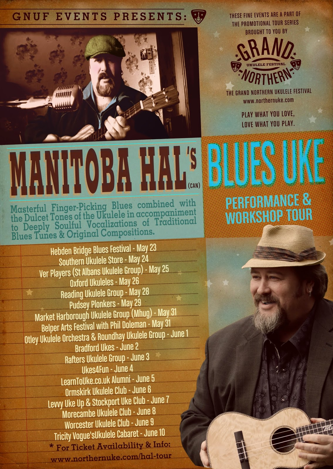 Manitoba Hal UK Tour