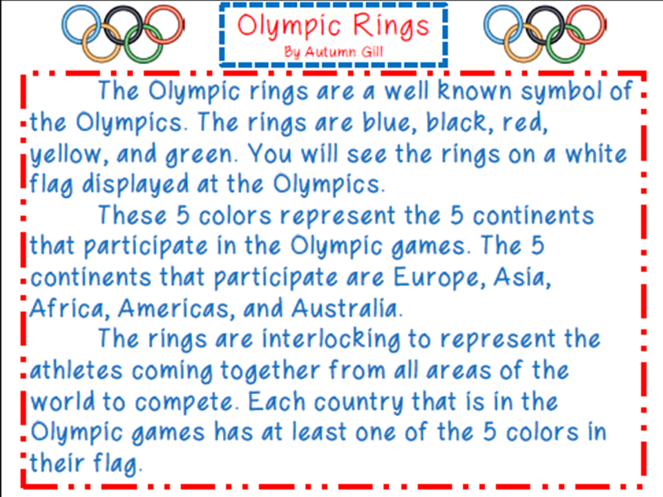 http://www.teacherspayteachers.com/Product/Olympic-Symbols-Close-Reading-1100682