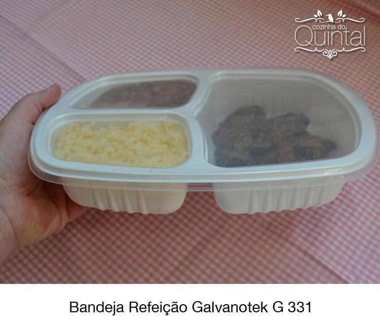 A bandeja G 331 é mais baixa, tem acabamento impecável e é certificada para alimentos.