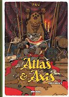 la saga de Atlas & Axis, volumen 3 de Pau edita Dibukks