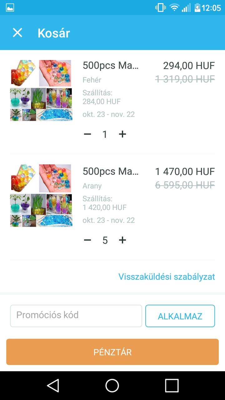 faea959a3933 Mivel a termék rejtett ára, ezért változhat a szállítási költség színtől és  mérettől függően. Ezt csak akkor látod, ha beraktad a kosárba. Minden  rendelés ...