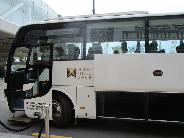 マカオ 無料シャトルバス