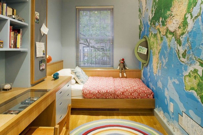 Dormitorios juveniles en espacios peque os colores en casa for Amueblar dormitorio juvenil pequeno