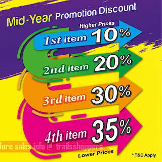 Swan MJ Boutique Mid Year Promotion Discounts