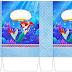 Cumpleaños de la Sirenita: Cajas para Imprimir Gratis.