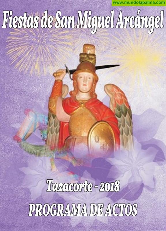 Programa Fiestas de San Miguel Arcángel 2018 en Tazacorte