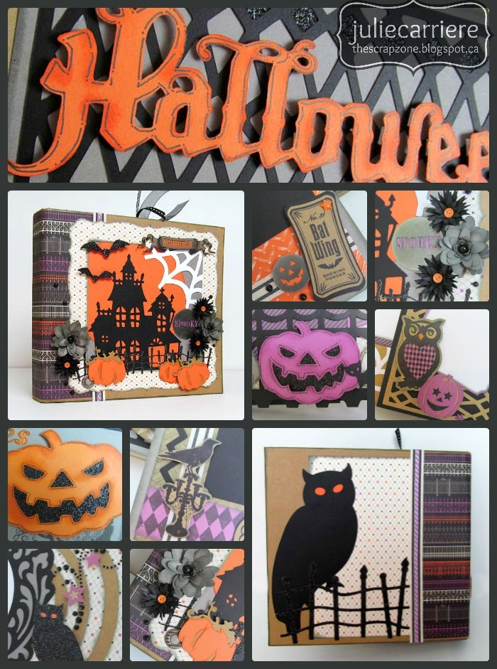 CTMH Halloween Mini Album