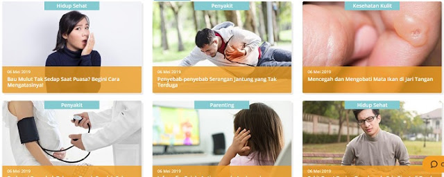 Website Sehatq.com - Blog Mas Hendra