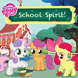 MLP School Spirit Book Media