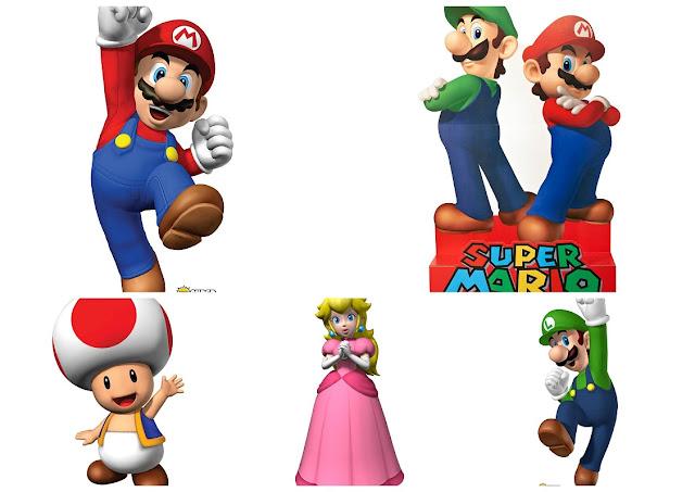 Pósters de Super Mario Bros para Imprimir Gratis.