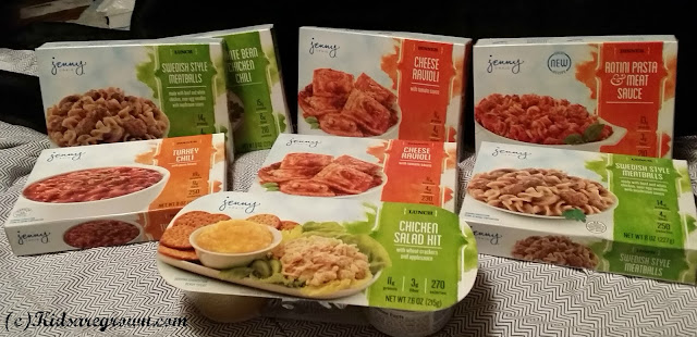 Jenny Craig Lunches and Dinners