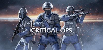 تحميل لعبة كريتيكال أوبس Critical Ops للاندرويد وللايفون مجانآ