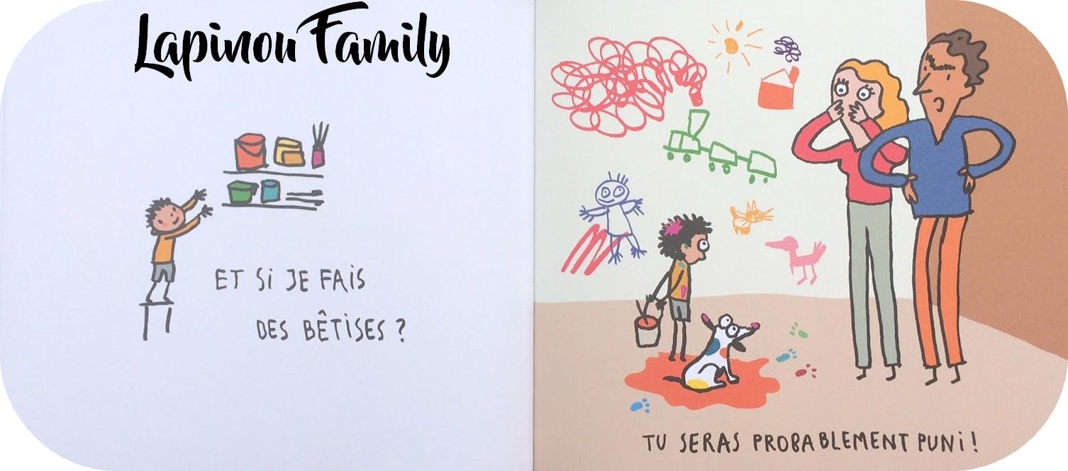 Chut les enfants lisent 91 lapinou family for Dans 9 mois nous serons 4