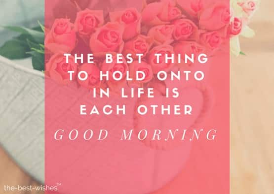 morning love quotes
