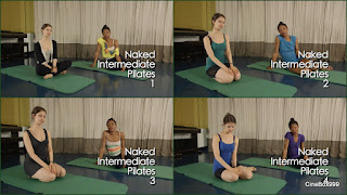 Naked Intermediate Pilates.