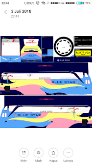 link download livery blue star shd