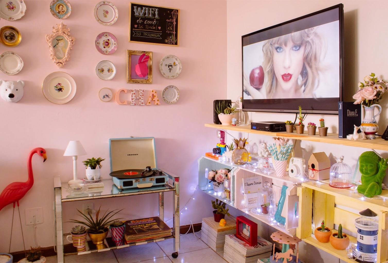 Decorao De Sala Pequena Simples Sala Pequena Com Sofa Cinza