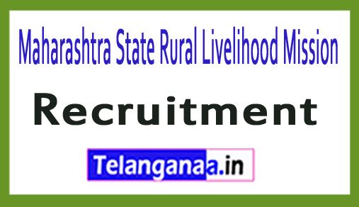 Maharashtra State Rural Livelihood Mission MSRLM Recruitment