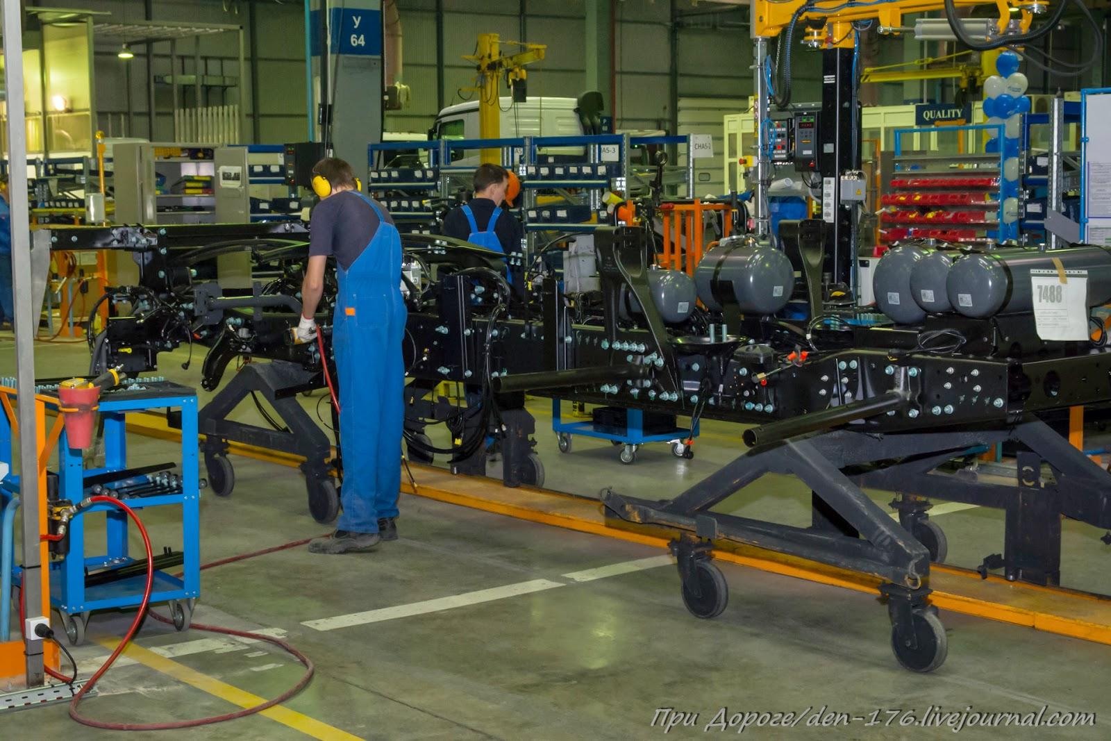How to make MBTV 46 Mercedes Benz trucks in Naberezhnye Chelny