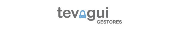 Diseño de logotipo para gestora de vehículos Tevagui - Final logo design for the vehicles management business.