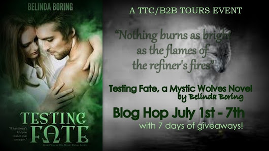 Delphina Reads Too Much: Testing Fate by Belinda Boring Blog Hop and Giveaway!