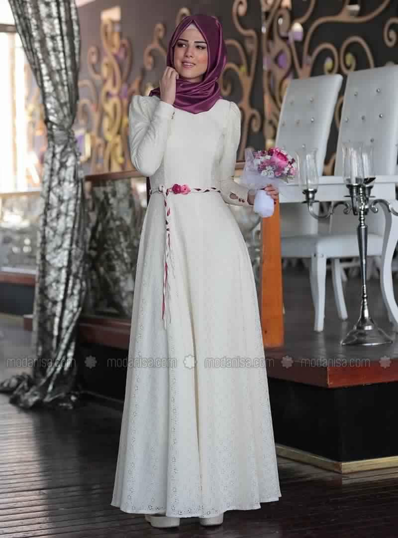 Robe soiree femme voilee turquie