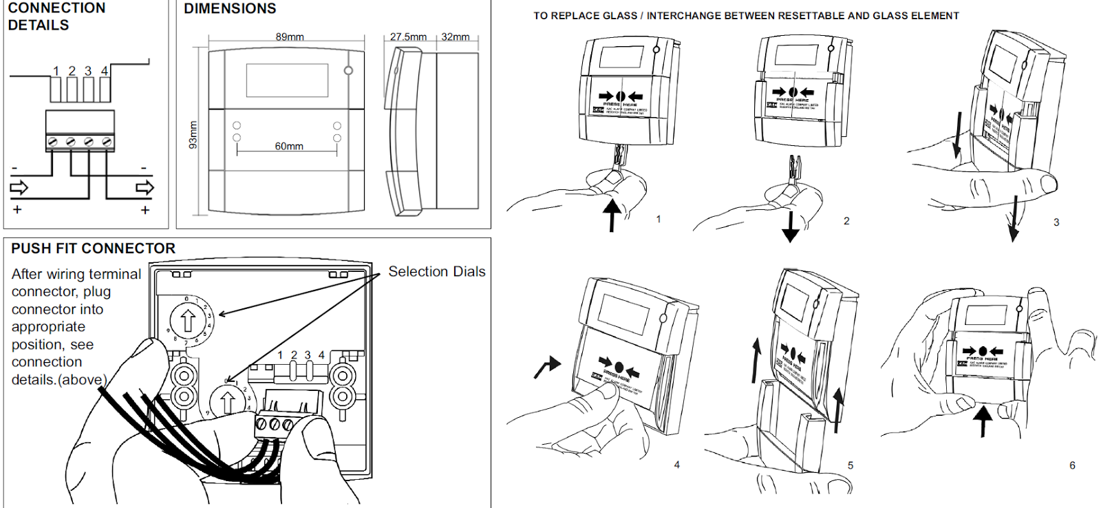 fire alarm call point wiring diagram