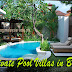 Private Pool Villas in Bali