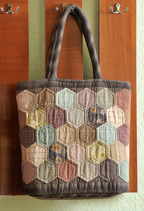 Hexagon Quilt Patchwork Bag Diy Tutorial Ideas