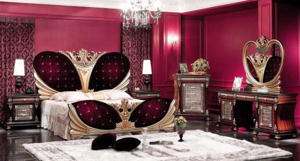 Habitaciones en violeta y gris plata  Dormitorios colores y estilos
