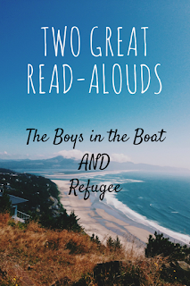 Boys in the Boat, Refugee, Read Aloud, Books, Fiction, Nonfiction