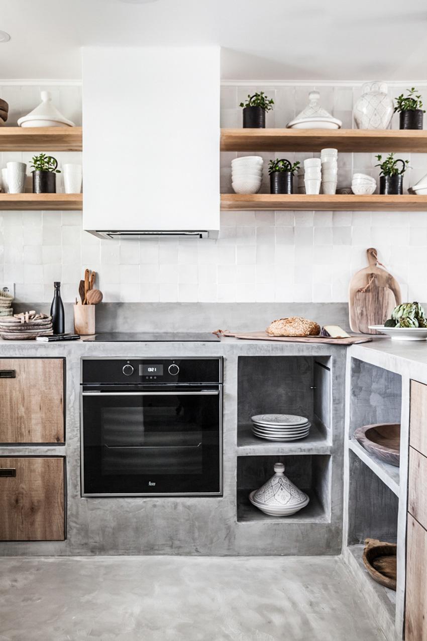 Una cocina de obra abierta al saln  Blog de decoracin
