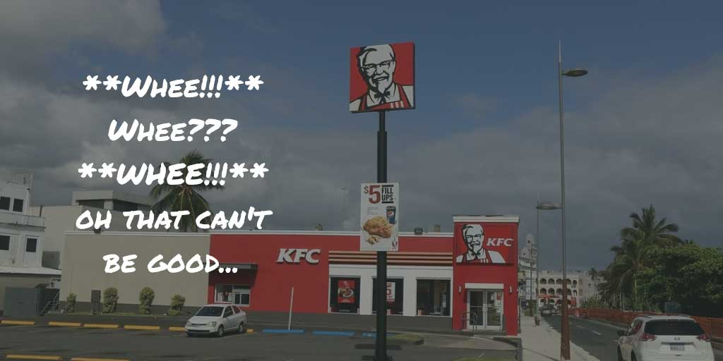 kfc whee meme that can't be good