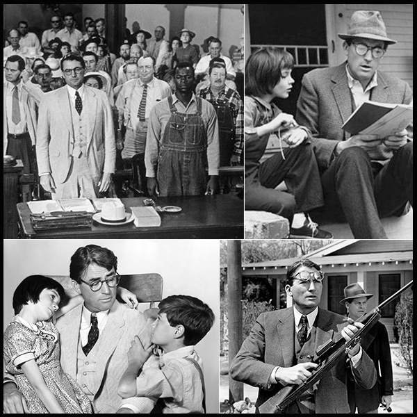 """Matar a un ruiseñor"", Gregory Peck, Atticus Finch, Tom Robinson"