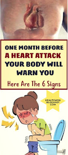 One Month Before Heart Attack, Your Body May Warn You With These 8 Signs!!