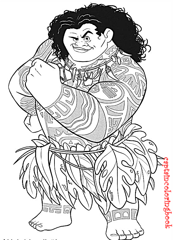 You'll Love These Printable Moana Coloring Pages - D23 | 771x559