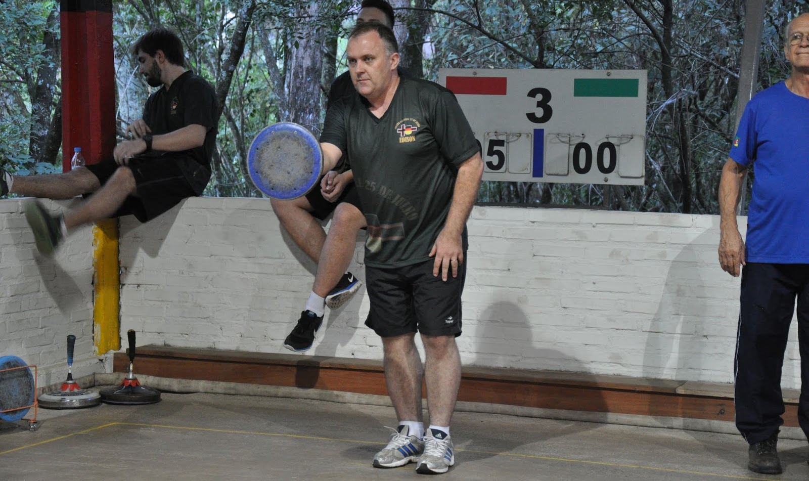 Brasil compete com seis times na Taça da Amizade de Eisstocksport