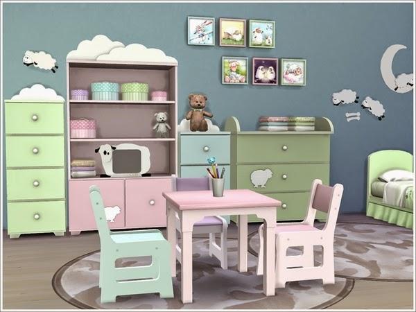 My Sims 4 Blog Baby Sheep Kid S Room By Severinka