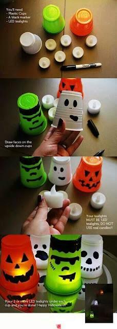 Luci Spaventose Di Halloween