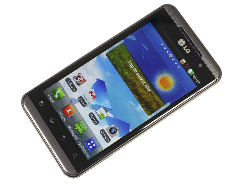 Lg Smart phone Bet on 3D to Differentiate from Competition