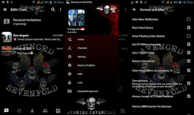 BBM Mod A7X No Clone Update Apk for Android