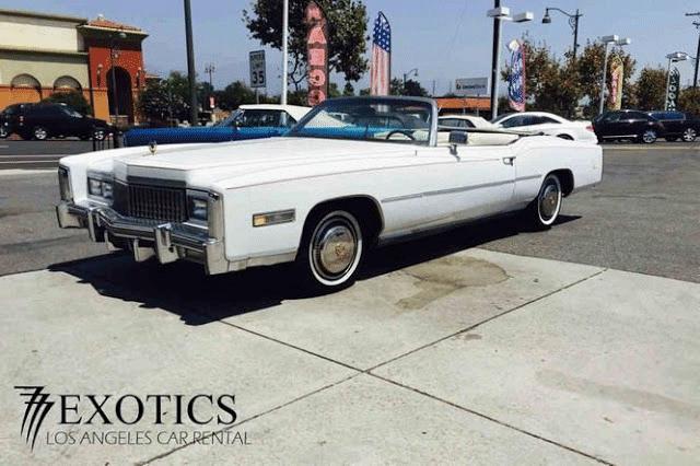 1975 Cadillac El Dorado Classic Car Rental