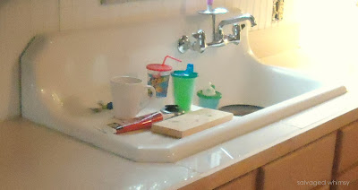 Salvaged Whimsy Kitchen Remodel Part 1 The Farm Sink