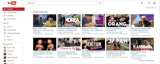 Cara Mengubah Tampilan YouTube ke Material Design