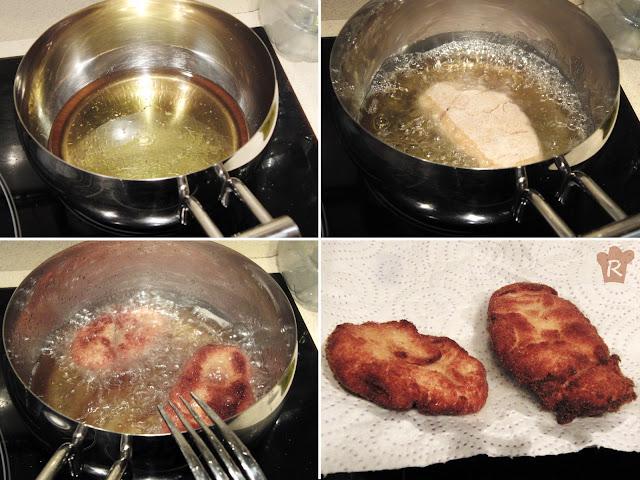 Fríe los nuggets